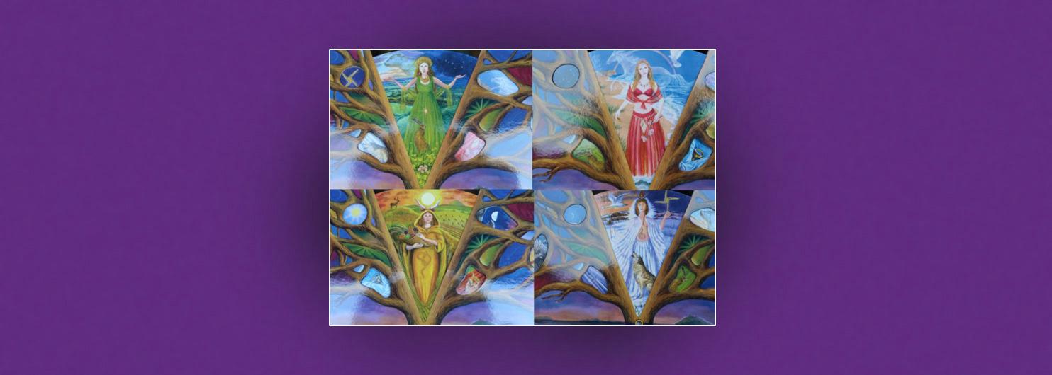 Die-vier-Jahreszeiten, Die 4 Archetypinnen der Frau